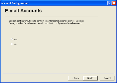 how to set up group email in outlook 2003