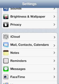 how to get bell email on ipad