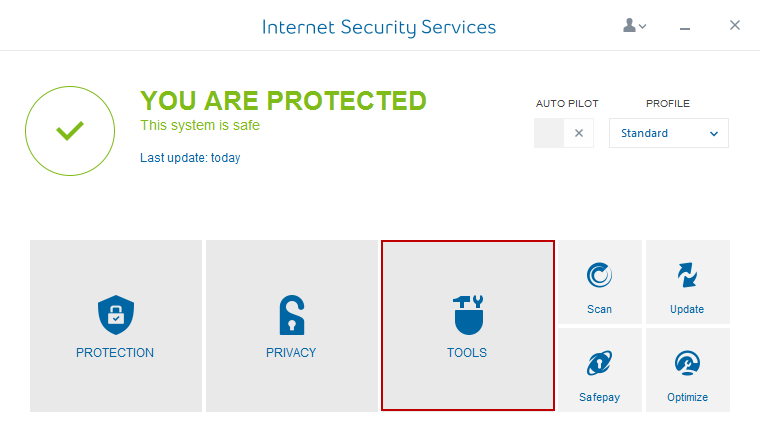 Internet Security Service Tool