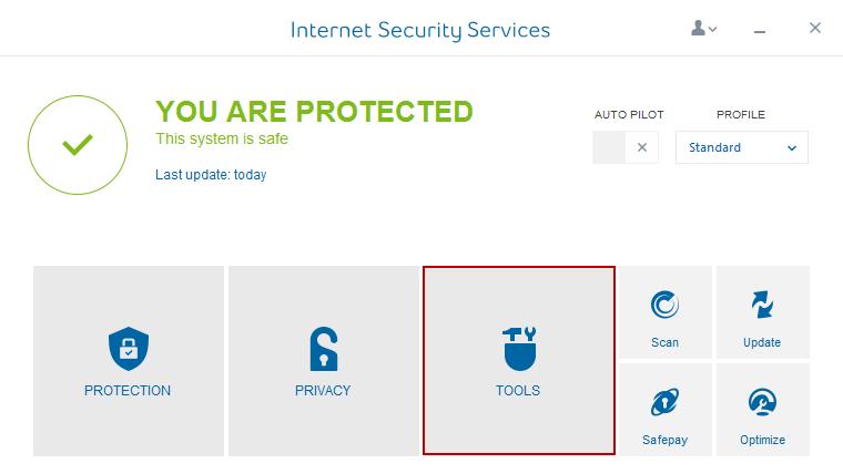 Internet Security Service Tool