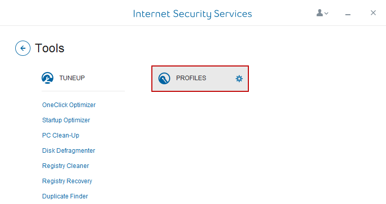 Internet Security Service Profiles