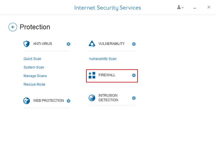 Internet Security Services Firewall
