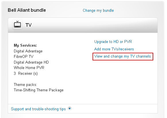 Image: Change my TV channels