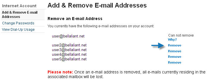 Image: remove an email address