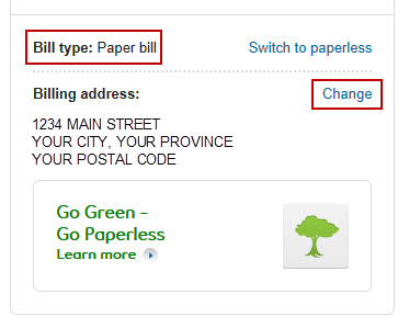 IMAGE: Change billing address