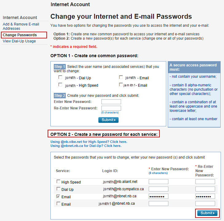 how to see my internet password