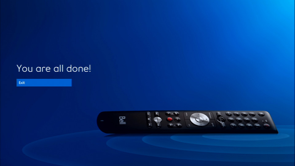 how to set up bell fibe tv slim remote