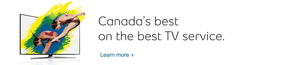 Canada's best on the best TV service