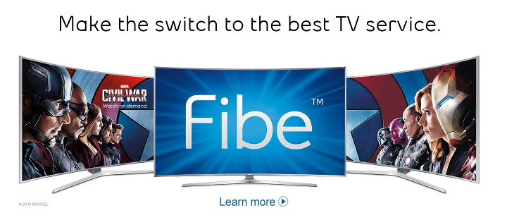 Make the switch to the best TV service.