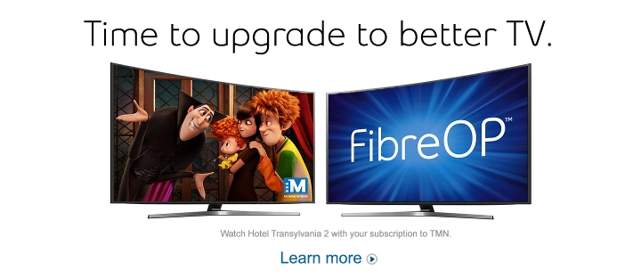 Upgrade to better TV.